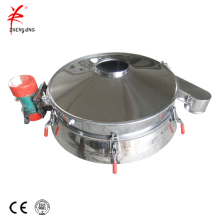 Flour direct discharging circular vibratory screener