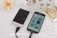 solar panel production line cell solar charger solar power bank 5000mah mobile power bank
