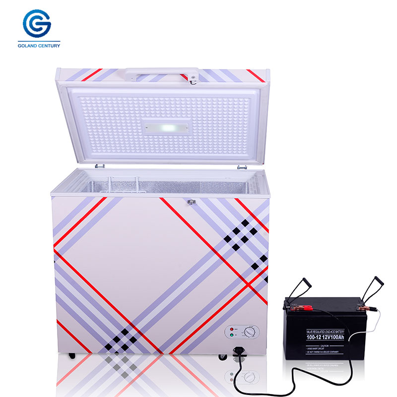 12 24V DC solar power chest refrigerator freezer cooler 110L