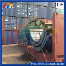 Continuous Waste Tire/rubber/plastic Pyrolysis Plant with CE