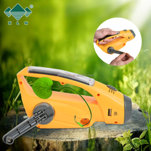 3led Solar Torch Dynamo Flashlight Led Light, Multifunction Solar Radio &Flashlight&mobile Phone Charger