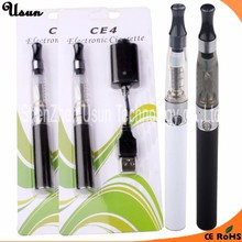 Cheap price wholesale e cigarette ego-t type a e vapor 1.6ml ego t ce4 kit