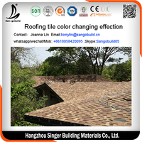 Asphalt shingle for sale/cheap asphalt shingle for building materials/Cambodia asphalt shingle desert color