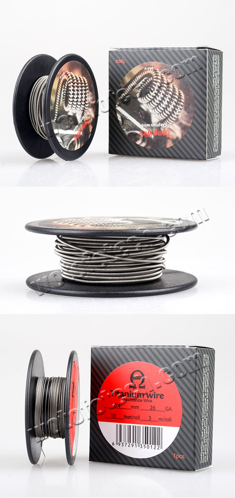 Wotofo Comp Wire || Twisted coil/spool wire, clapton wire by wotofo ...