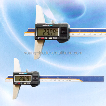 Conventional electronic digital depth gauges