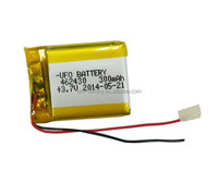 3.7v 300mah lipo battery packs 3.7V 4.2V 4.8V 300mAh Rechargeable Battery For Toys