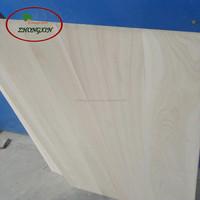 Fine texture and sturdy paulownia wood for jewelry box