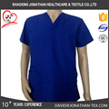 good quality poly cotton nurse scrub uniform hospital use uniform