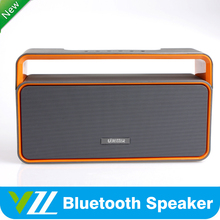 New Wireless Powerful Bass Bluetooth Speaker with sd fm usb remote for gift/wedding/househood/office