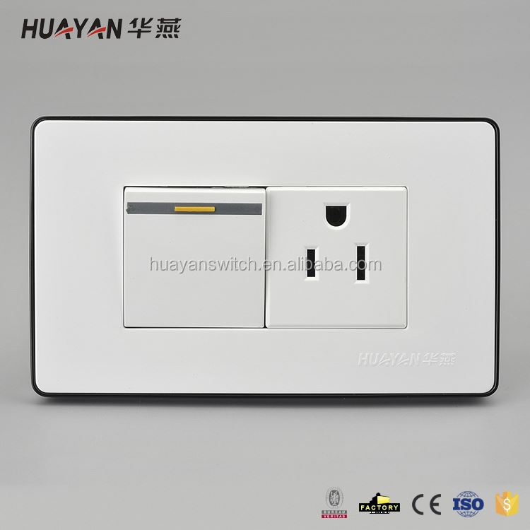 Factory supply attractive style electric wall switch socket China sale