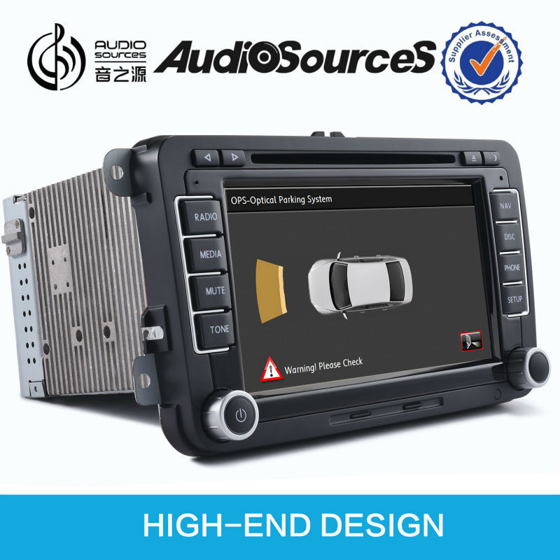 Car DVD for Volkswagen Golf car gps navigation with can bus OPS IPAS SWC HD video car infor high end design