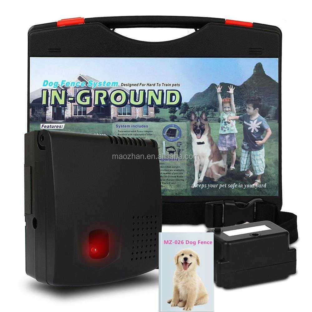 Amazon Hot Sell Rechargeable Wireless Invisible Electronic Fence for Dog