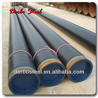 3 Inch to 24 Inch Hot Rolled Sch40 Sch80 Sch120 Sch160 ASTM A106 Gr.B Epoxy Coated Seamless Steel Pipe For