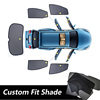Velcro fit shade mesh car window curtain for Civic 06-12