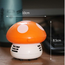 M039 wholesale high quality multicolor mushroom portable Desk Mini hand <strong>vacuum</strong>