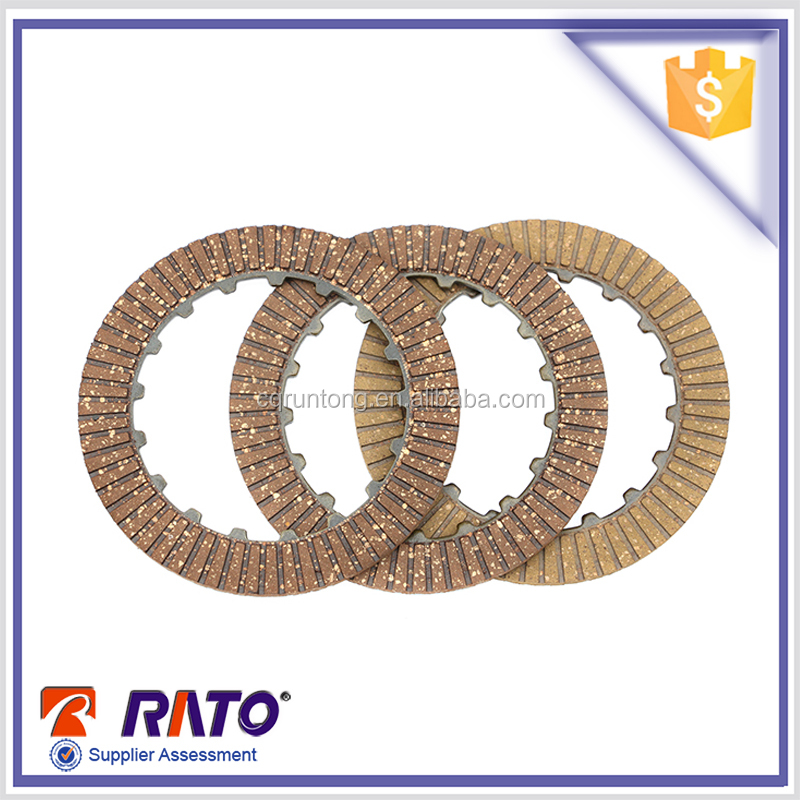 CD70 motorcycle transmission clutch friction plate friction disc