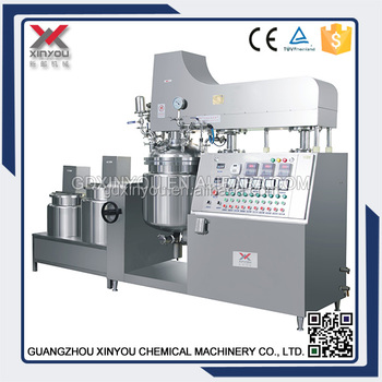 50L vacuum mixing machine for lotion,cream ,gel with factory price
