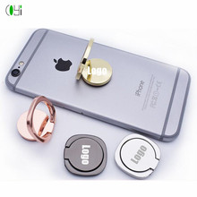 New product ideas 2019 gift for wedding guests laser engrave logo/name finger ring phone holder anti-drop