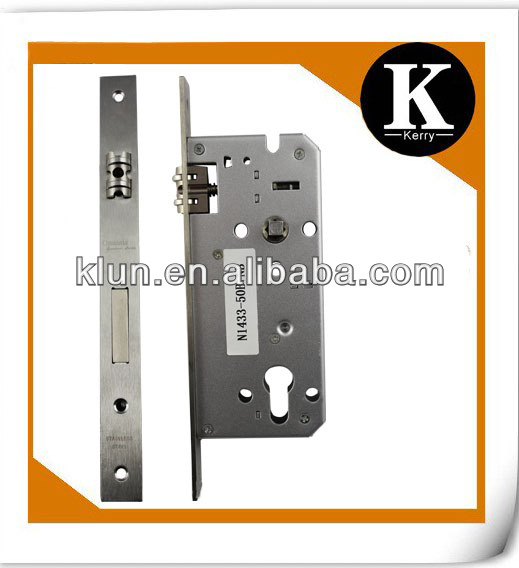 High security 85mm mortise lock body ,NO.N1433-50B