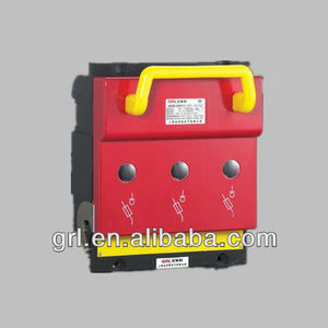 HR6-160/3P The electric box is fused to isolate the main flow switch