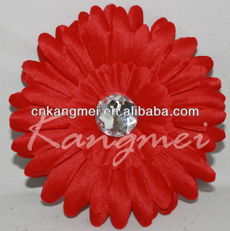 Fashionable gerbera daisy flower for decoration with headband or hats