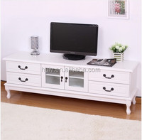 Home furniture indoor modern wooden tv cabinet stand showcase for television