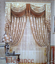 Fashion valances luxury modern curtains