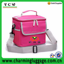 High quality oxford waterproof lunch cooler bag for picnic with shoulder strap
