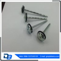 China Manufacturer High Quality Umbrella Head Roofing Nails Mushroom Nails