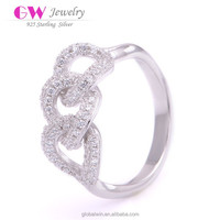 Walmart Jewelry Silver Rings Wholesale Knot Ring