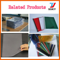 A4 cover sheet PVC rigid