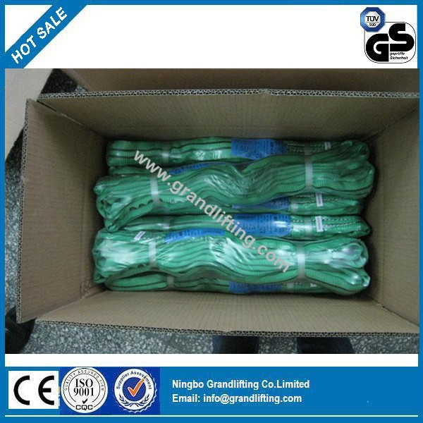 3T polyester flat webbing sling lifting sling