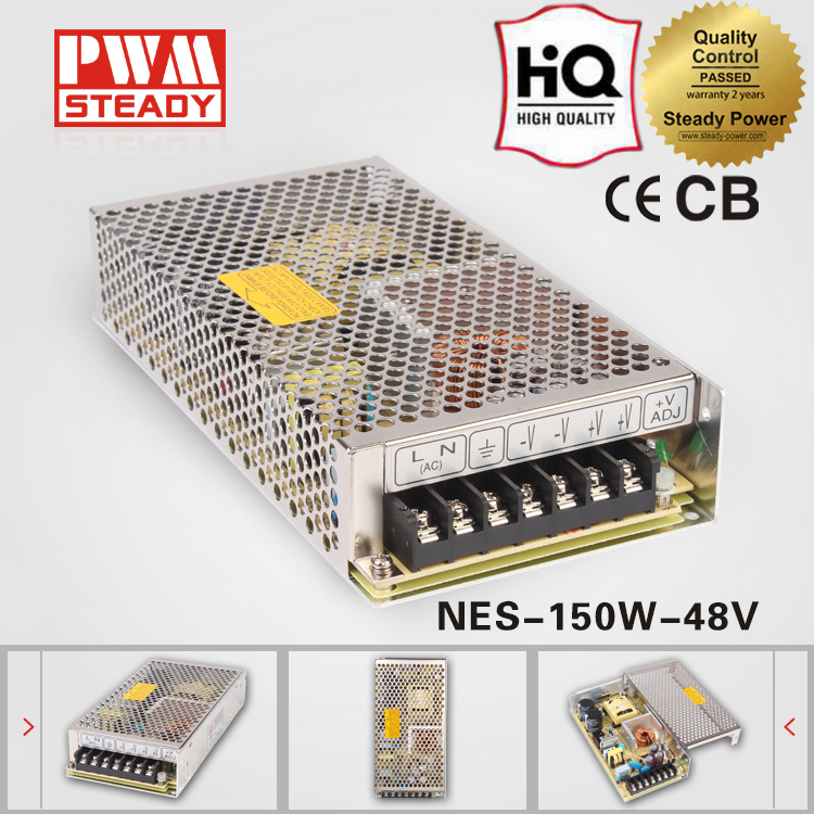 Iso NES 150W- 48V 150 W 3.3a ac dc 15v led driver enclosed switching power supply