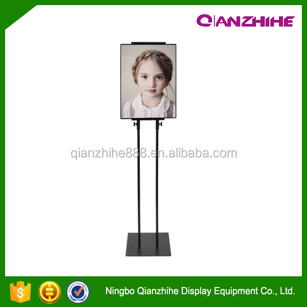 adjustable easel iron display stand menu stand advertising rack