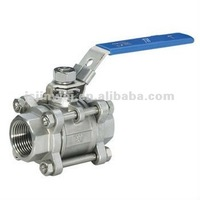 Professional manufacturer High-quality, lowest price SS 1000W.O.G 3PC BALL VALVE