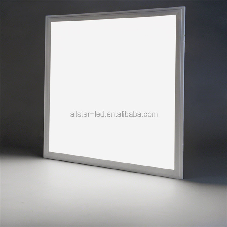 Ultra bright 100LM/W 2x2 FT 36w/40w/48w led panel 62x62 60x60 cm 595x595 LED Panel ceiling Light Made in China