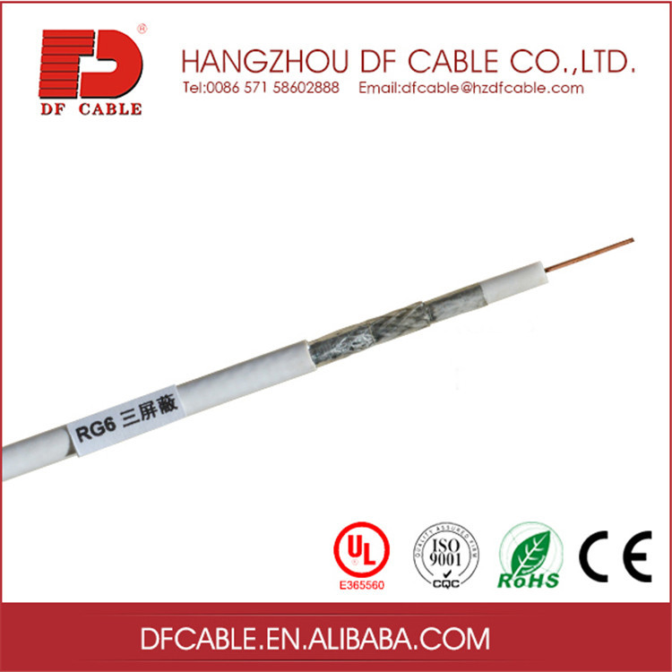 Hot selling cheap custom colorful rg6 ccs coaxial cable
