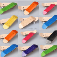 wholesale Multi-color blank wood skateboard decks wholesale custom complete finger skateboard factory price