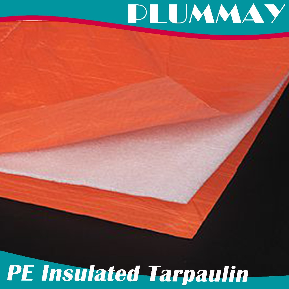 waterproof insulated covering tarpaulin,protective HDPE lona