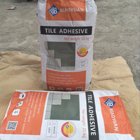 which adhesive for porcelain tiles -- C2TE Super Tile Adhesive best option for low water absorption rate tiles