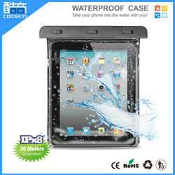 Hot selling IPX8 PVC waterproof pouch for ipad