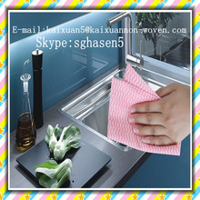 [FACTORY] Viscose and polyester nonwoven cleanroom wipers (non-woven)