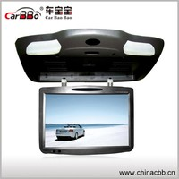 19 inch bus advertising lcd player digital advertising video monitor with DVD and TV /VGA