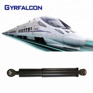 Hydraulic shock absorber air suspension used train