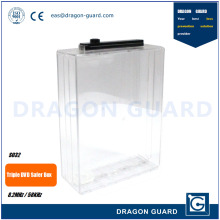 Dragon Guard DVD Keeper, Security Anti-theft EAS Triple DVD Safer