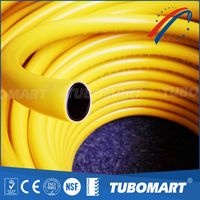 Factory Directly flexibility PE-AL-PE gas pipe orange long life span five-layer pipe with well airproof