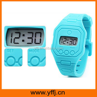 Waterproof silicone thin wrist watch on sale