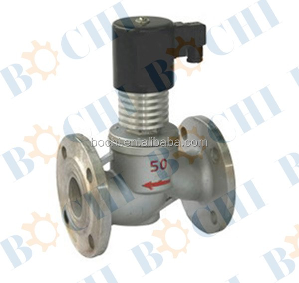 AC 220V LPG Stainless Steel Normal Close Solenoid Valve