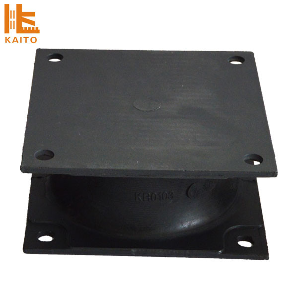 Quick-wear spare parts rubber/shock absorber for BOMAG road roller