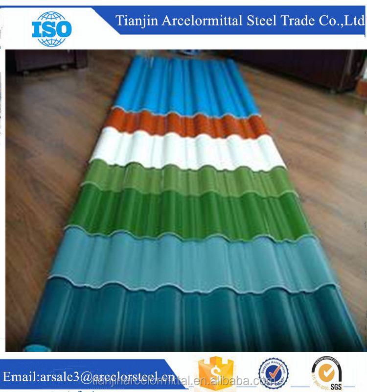 hot sale AST Cr.C Cr.58 corrugated steel sheets for direct sale